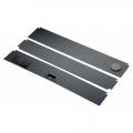 Комплект пластиковых крышек для Juwel Lido 200, 3 шт черный (93924)