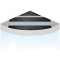 Комплект пластиковых крышек для Juwel Trigon 350 черный (93938)