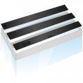 Комплект пластиковых крышек для Juwel Rio 400, 3 шт черный (93990)