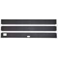 Комплект покровных крышек для аквариумов  АТОЛЛ 500/ ALTUM 450 (3 детали, без ручки и кормушки)