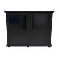 Пoдставка  (1420х570х720) 2 дв. МДФ, черная, собранная