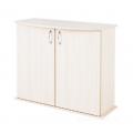 Пoдставка фигурная 70 (710*360*720) две дверки ДСП, белое дерево, в коробке