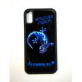 Чехол противоударный силиконовый Геккон для смартфона IPhoneX/Xs