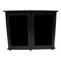 Подставка Aqua Plus МДФ 900х475х720 мм, черная, 2 дверки