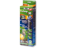 JBL ProTemp S 50 - Регулируемый нагреватель для аквариума с автоматическим отключением и защитным кожухом, 50 Вт
