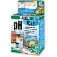 JBL pH Test-Set 3,0-10,0 - Комплект для простого быстрого контроля значения рН в пресной и морской воде в диапазоне от 3 до 10 единиц на 80 измерений.