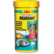 JBL NovoMalawi - Корм в форме хлопьев для растительноядных цихлид из озер Малави и Таньгаика, 250 мл. (38 г.)