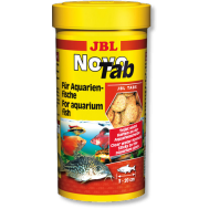 JBL NovoTab - Корм в форме таблеток для всех видов аквариумных рыб, 250 мл. (400 шт.)