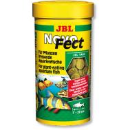 JBL NovoFect - Корм в форме таблеток для растительноядных рыб, 100 мл. (160 шт.)
