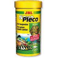 JBL NovoPleco - Водорослевые чипсы с примесью целлюлозы для кольчужных сомов, 100 мл. (55 г.)