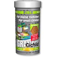 "JBL Grana-Cichlid - Корм класса ""премиум"" в форме гранул для плотоядных цихлид, 250 мл. (110 г.)"