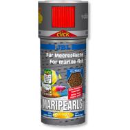 JBL MariPearls - основной корм для морских обитателей, гранулы, банка с дозатором, 250 мл