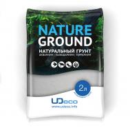 """UDeco River Marble - Натуральный грунт для аквариумов """"Мраморный песок"""", 0,2-0,5 мм, 2 л"""