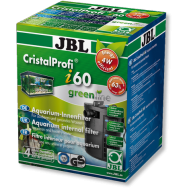 JBL CristalProfi  i60 greenline - Внутренний угловой фильтр для аквариумов 40-80 литров, 150-420 л/ч