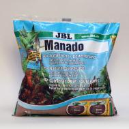 JBL Manado - Натуральный субстрат для пресноводных аквариумов, красно-коричневый, 25 л