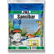 JBL Sansibar WHITE - Декоративный грунт для аквариума, белый, мелкий, 5 кг.