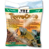 JBL TerraCoco - Кокосовая стружка, натуральный донный субстрат для террариумов, 5 л.