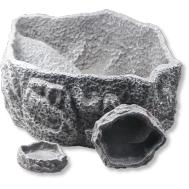 JBL Reptil Bar GREY S - Поилка/кормушка для рептилий, серая, 9 х 7,5 х 1,5 см