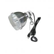 Светильник 01RL на зажиме, с защитной сеткой, 75Вт, 140мм