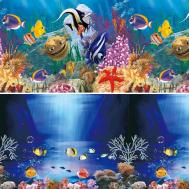 """Фон 9081/9093, 0,4*15м """"Синяя сказка/Океанский риф"""""""