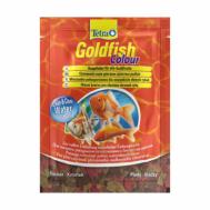 Корм для  окраса золотых  рыб Tetra Goldfish Colour  12g  хлопья