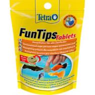 Лакомство для рыб Tetra FunTips Tablets 20 таб.  в виде приклеивающихся таблеток