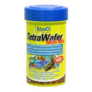 Корм для всех донных рыб Wafer Mini Mix 100 ml