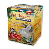 JBL ReptilDesert L-U-W Light alu 50W - Спот-лампа полного солнечного спектра для освещения и обогрева пустынных террариумов, 50 Вт