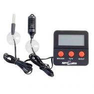 Термогигрометр 124SH электронный с двумя датчиками, 60*60*10мм
