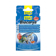 Препарат  Tetra Biocoryn 24kap, для  очистки аквариума от биологических загрязнений