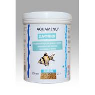 Корм AQUAMENU Дафния 250 мл, для средних и мелких рыб, черепах