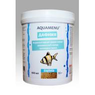 Корм AQUAMENU Дафния 600 мл, для средних и мелких рыб, черепах