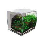 Аквариум Fluval Flex 57 л, с изогнутым стеклом, белый