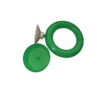 Кормушка для рыб пластиковая круглая с присоской