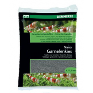 "Грунт для мини-аквариумов Dennerle Nano Garnelenkies, цвет ""Arkansas grеу"" (серый), фракция 0,7-1,2 мм., 2 кг."