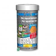 JBL Grana - Основной корм премиум-класса в форме гранул для небольших пресноводных аквариумных рыб, 250 мл (108 г)