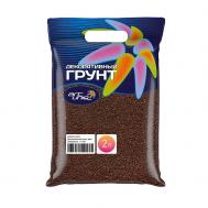 """ArtUniq Color Chocolate - Декоративный грунт для аквариума """"Шоколадный"""", 1-2 мм, 3 кг, 2 л"""