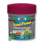 JBL NanoPrawn - Основной корм в форме гранул для креветок в нано-аквариумах, 60 мл (35 г)