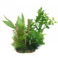 ArtUniq Bacopa & bamboo 20 - Композиция из искусственных растений с бамбуком Бакопа, 20 см