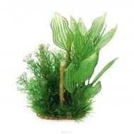 ArtUniq Aponogeton & bamboo 20 - Композиция из искусственных растений с бамбуком Апоногетон, 20 см