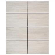 Дверки Ф-300 для подставки ALTUM 200/450/700/ ALTUM PANORAMIC 200/450/700 (белёный дуб) плита ЛДСП 1