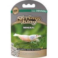 Dennerle Shrimp King Mineral - Дополнительный минеральный корм премиум-класса в форме палочек для креветок, 45 г