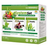 Dennerle Perfect Plant System Set - Комплект препаратов для системного и профессионального ухода за аквариумными растениями (E15 20 табл., S7 50 мл, V30 50 мл), на 1600 л