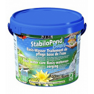 JBL StabiloPond Basis - Препарат для стабилизации параметров воды в садовых прудах, 2,5 кг, на 25000 л