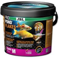 JBL ProPond Flakes M - Основной корм в форме плавающих хлопьев для прудовых рыб среднего размера, 0,72 кг (5,5 л)