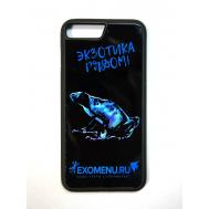 Чехол противоударный силиконовый Лягушка для IPhone7 Plus/8 Plus