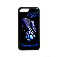 Чехол противоударный силиконовый Игуана для IPhone7 Plus/8 Plus