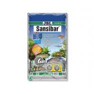 JBL Sansibar GREY - Декоративный мелкий грунт для аквариума, серый, 10 кг.