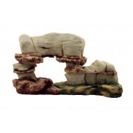 """ArtUniq Cave - Декоративная композиция из пластика """"Пещера"""", 42x11,5x24 см"""