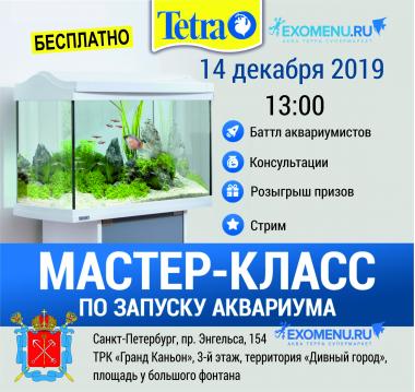 Мастер-класс «Запуск аквариума с живыми растениями с TETRA»